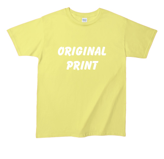 激安オリジナルプリントTシャツ